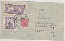 POSTE AERIENNE LETTRE 1938 de Paraguay à Berlin-bonne affranchissement