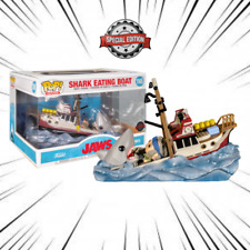 RARE FUNKO POP JAWS N°1145 SHARK EATING BOAT SPECIAL EDITION