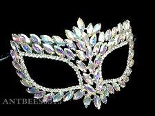 New Gorgeous Laser Cut Venetian Crystal Wedding Masquerade Prom Ball mask