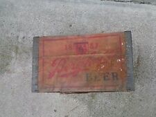 RARE Berghoff Wood Beer Crate Fort Wayne Indiana