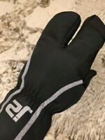 J2 Velo Insulated Waterproof Windproof Winter Lobster Cycling Gloves