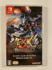 Monster Hunter Double Cross Nintendo Switch VGC NTSC-J