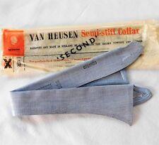 Van Heusen RAF blue shirt collar size 15 style 52 UNUSED vintage IMPERFECT