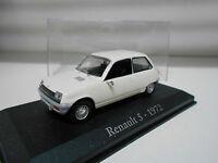 RENAULT 5 1972 RBA IXO + URNA  1/43