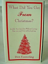 """Vintage """"What Did You Get From Christmas? Book by Don Easterling, Swimming Coach"""
