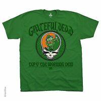 GRATEFUL DEAD MORNING DEW IRISH LEPRECON ROCK MUSIC GREEN MENS T SHIRT M-2XL