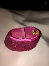 Build A Bear Replacement Shoe. Hot Pink Glittery.