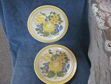 Red Wing Hand painted Brittany Dinner Plate Set of 2 Combined Shipping Okay
