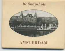 Souvenir photo packet Amsterdam - 1940s? - 10 real photos complete