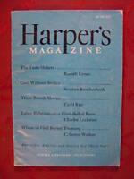 HARPER's June 1947 RUSSELL LYNES ROBERT MORSE CYRIL RAY MORDECAI EZEKIEL