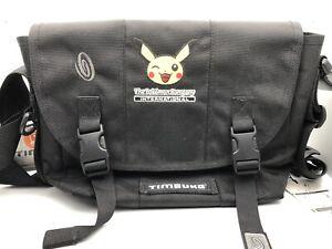 Pokémon International Pikachu Timbuk2 Messenger Bag Laptop Satchel Rare