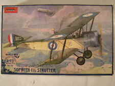 U.K. Sopwith 1 1/2 Strutter Scout, WWI 1/72 TOKO model kit RO 118