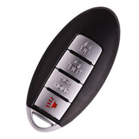 Protective Silicone Remote Fob Cover For Nissan 4 Button KR55 CWTW Gray