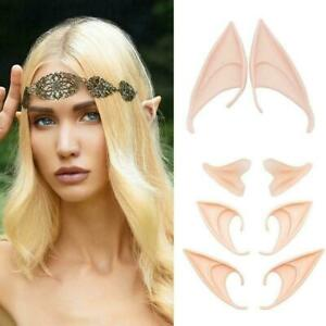 The Latex Elf Ears Cosplay Party Props Creative Gift Halloween Fancy Costume
