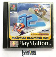 PS1 JEU VIDEO SNOW RACER 98 - COMPLET TESTE OK - PLAYSTATION 1