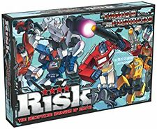 Risk Transformers Complete Family Board Game Brand New Sealed
