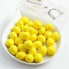 20 Limes Lemon Lifelike Artificial Plastic Fake Fruit Imitation Party Home Decor