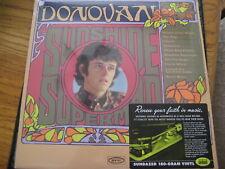 DONOVAN Sunshine Superman 180 Gram MONO 2005 SUNDAZED BLACK VINYL RARE LP