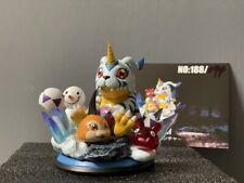 Gabumon Statue Resin Figure Digimon Monster Model GK SOUL-M Studio Toys Limited
