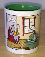 Rare 1998 The Far Side Gary Larson Smart Ass Dumb Bunny 12 oz Tea Cup Coffee Mug