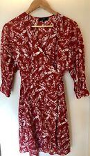SABA Wrap Dress - Size 8