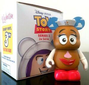 "DISNEY VINYLMATION 3"" TOY STORY SERIES 2 MRS POTATO HEAD 2014 PIXAR FIGURE NEW"