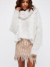 New Free People Elven Embellished Mini Size 4 $228