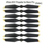4 Pair Low Noise 8331 Quick-Release Propellers for Mavic Pro Platinum for DJI