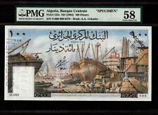 Algeria 100 Dinars 1964 P-125s * PMG AU 58 * Specimen *
