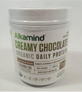 Alkamind Creamy Chocolate Organic Daily Protein 450G FREE SHIP 5/22