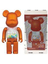 Medicom 2016 My First Baby 400% Pearl Orange Bearbrick Be@rbrick 1pc