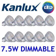 NEW 10x Kanlux PRODIM LED GU10 Dimmable Spot Light Bulb Lamp 7.5W 2700K WW 24660