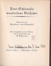 Adelbert von Chamisso - Peter Schlemihl - Germany Literature