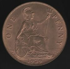 More details for 1929 george v one penny coin | british coins | pennies2pounds