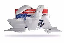 Polisport Motocross Plastic Kit for YAMAHA YZ 125 / 250 2006 - 2014 White 90151