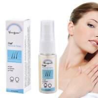 20ml Natural Permanent Hair Removal Spray Stop Hair Growth Inhibitor Remover AU
