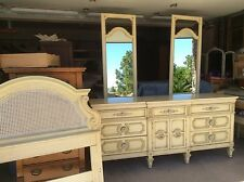 Vintage French Provincial 6 Piece Bedroom Set By Thomasville