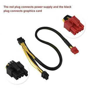 Power Supply Cable 8-Pin To Dual 8-Pin PCI Express Graphics Card Charging Cable