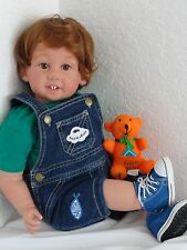 "Reborn 22"" Toddler boy doll ""Gabriel"" - Kinderland Faith Club Kid"