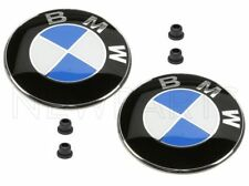 NEW OEM BMW E36 Z3 1996-2002 Set of 2 Fender Grilles Emblems & 4 Grommet Genuine