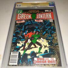 Green Lantern #141 CGC SS 8.0 (1981) George Perez - 1st App / Intro Omega Man