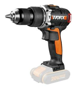 WORX 20V 13mm Brushless Hammer Drill/Driver (battery/charger sold separately)