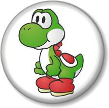 "Super Mario Brothers Yoshi design 2 - 1"" 25mm Pin Button Badge Bros Nintendo"