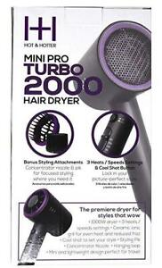 Turbo 2000 Mini Pro Hair Dryer
