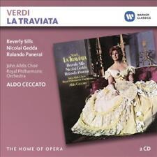 GIUSEPPE VERDI - LA TRAVIATA - BEVERLY SILLS (2 CD) NEW CD