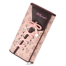 Women Classic PU Leather Wallet Purse Long Handbag Clutch Bag Cell Cards Holder