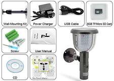 Solar 39 LED 6 IR DVR Security Camera PIR Motion Detection Video Record 8GB CCTV