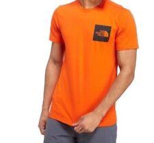 The North Face Fine Box T-Shirt - Orange - Size S