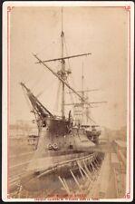 Bretagne. Brest. Croiseur Cuirasse de 1ere classe. Cabinet vers 1865