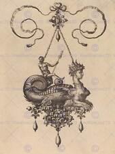 Hans Collaert flamenca de diseño de joyas Antiguo Arte Pintura Poster Print BB5556A